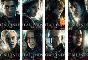 All 8 Deathly Hallows Character Posters