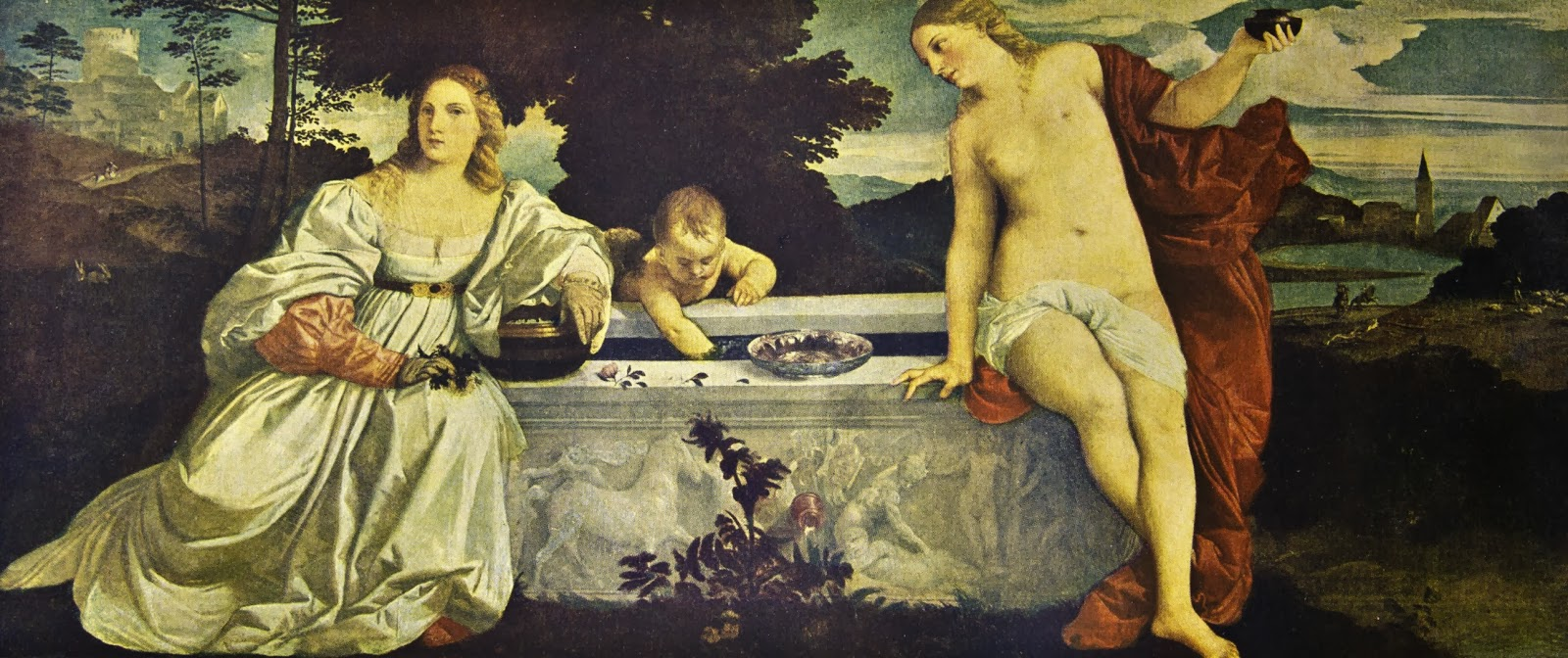 a biography of tiziano vecellio Titian no one knows exactly when the italian artist, tiziano vecellio, was born over the centuries, there has been a great deal of confusion concerning the date, due to a misprint in his.
