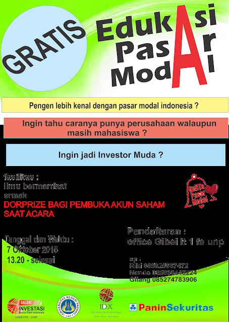 Edukasi Pasar Modal
