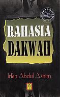 toko buku rahma: buku RAHASIA DAKWAH, pengarang irfan abdul azhim, penerbit bina insani