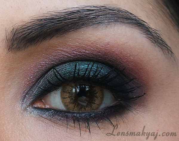 Sweet Color Cat Eye Brown