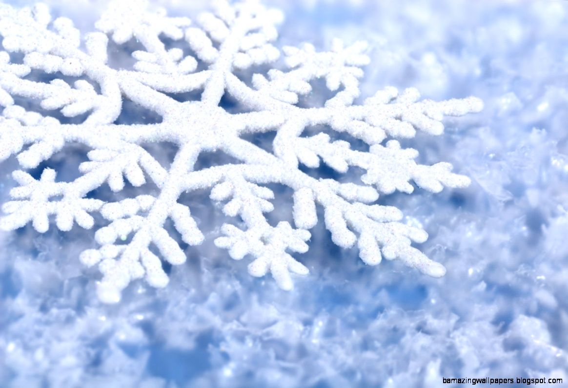 Winter Snowflakes Wallpaper   WallpaperSafari