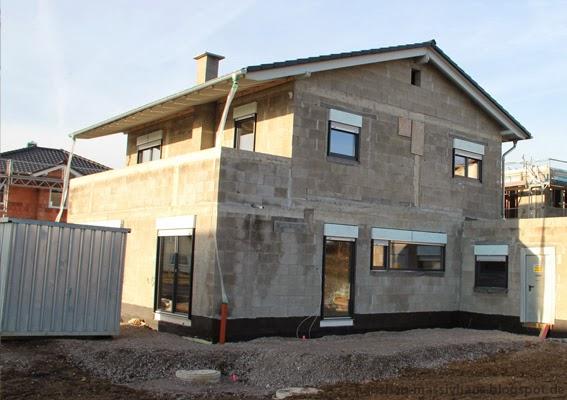 hausbau einfamilienhaus massivhaus bauen hausbau die dreizehnte woche. Black Bedroom Furniture Sets. Home Design Ideas