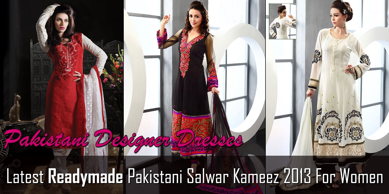 Latest Readymade Pakistani Salwar Kameez