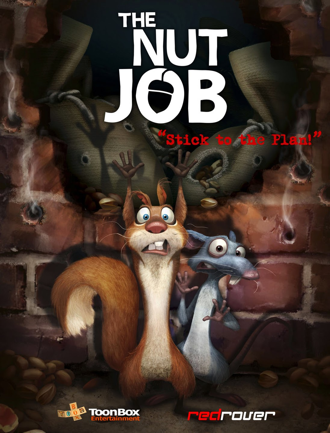 The Nut Job Animation Movie 2014 HD Poster