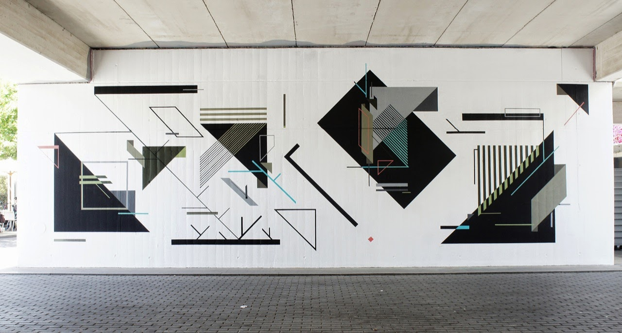 Our friend Seikon is in Southern Europe where he just finished working on this mural for the Poliniza Street Art Festival in Valencia, Spain.