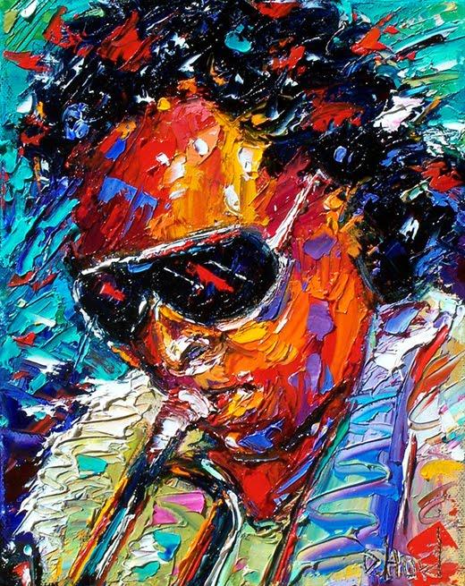Debra Hurd Original Paintings And Jazz Art Miles Davis