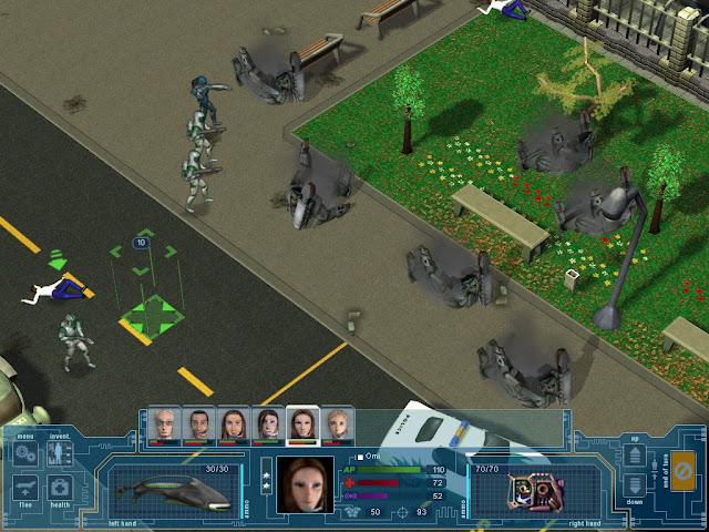 UFO: Extraterrestrials - Destroyer Robot Screenshot