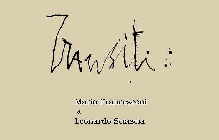 Mostre a Milano: Transiti, Leonardo Sciascia ritratto da Mario Francesconi