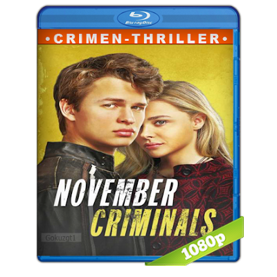 Los Criminales De Noviembre (2017) BRRip Full 1080p Audio Dual Castellano-Ingles 5.1