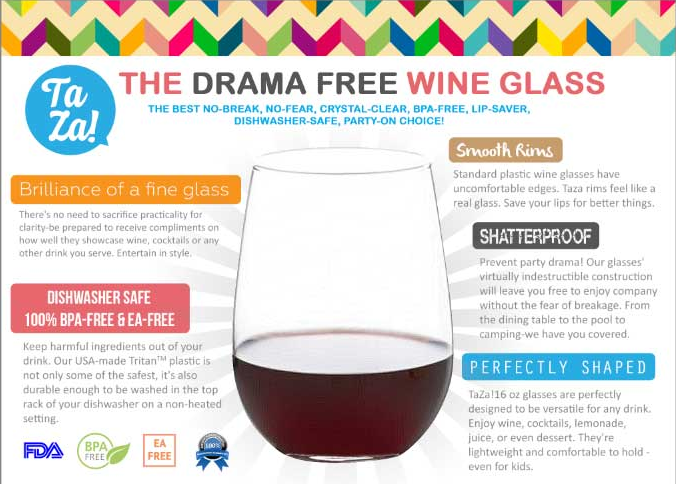 TaZa Wine Glass Review