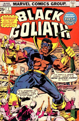 Black Goliath #1, Top Ten super-heroes with no reason to live