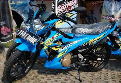 Strip modifikasi satria fu 2013