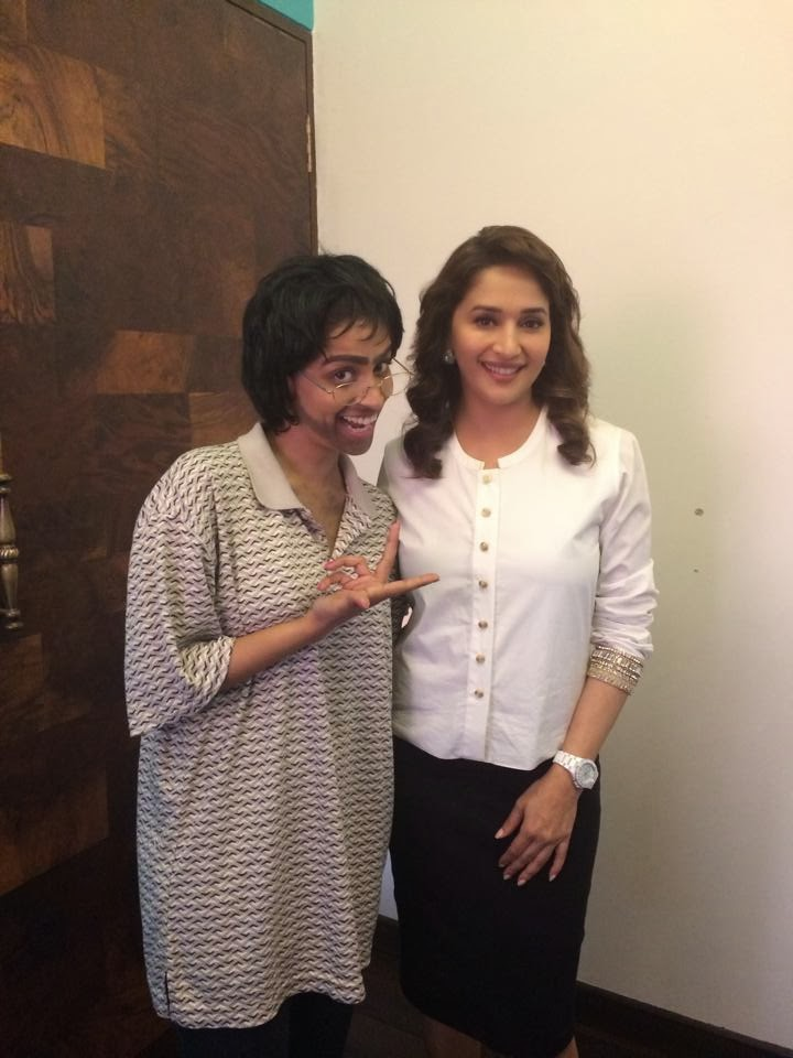 Madhuri Dixit another photo from Gulaab Gang‬ promotion