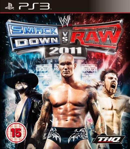 WWE SMACKDOWN VS RAW 2011PS3