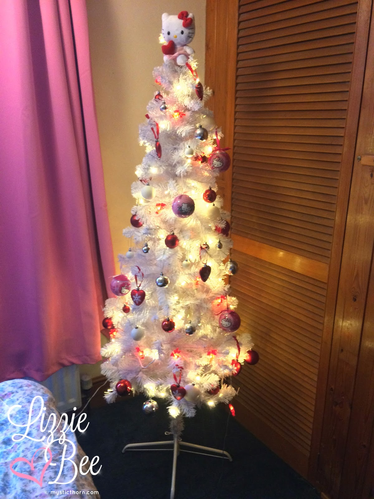 hello kitty sanrio christmas tree