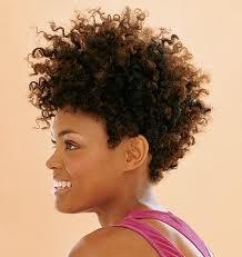 afros hair style