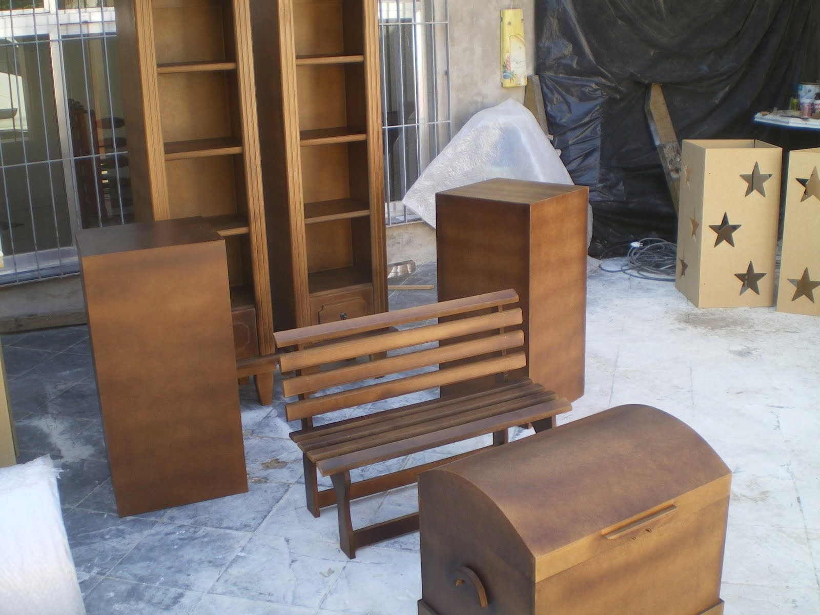 kit  de peças  rusticas