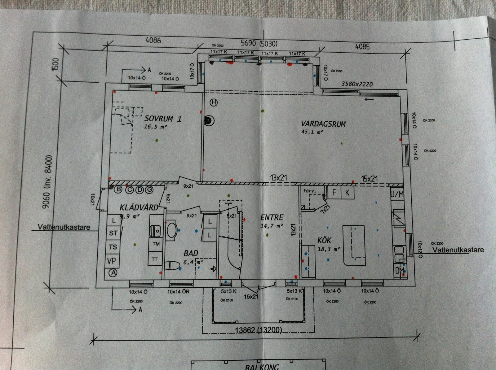Vi bygger mjöbäcksvillans villa sörgården: oktober 2013