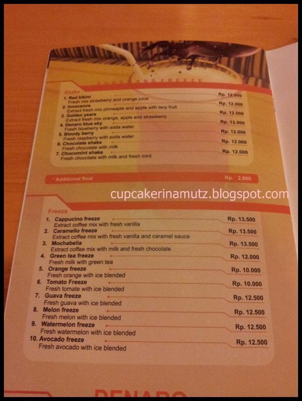 Kuliner jogja denaro pizza pasta rina chabbymutz for Z kitchen jogja menu