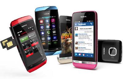 Harga HP Nokia Asha Terbaru Januari 2013