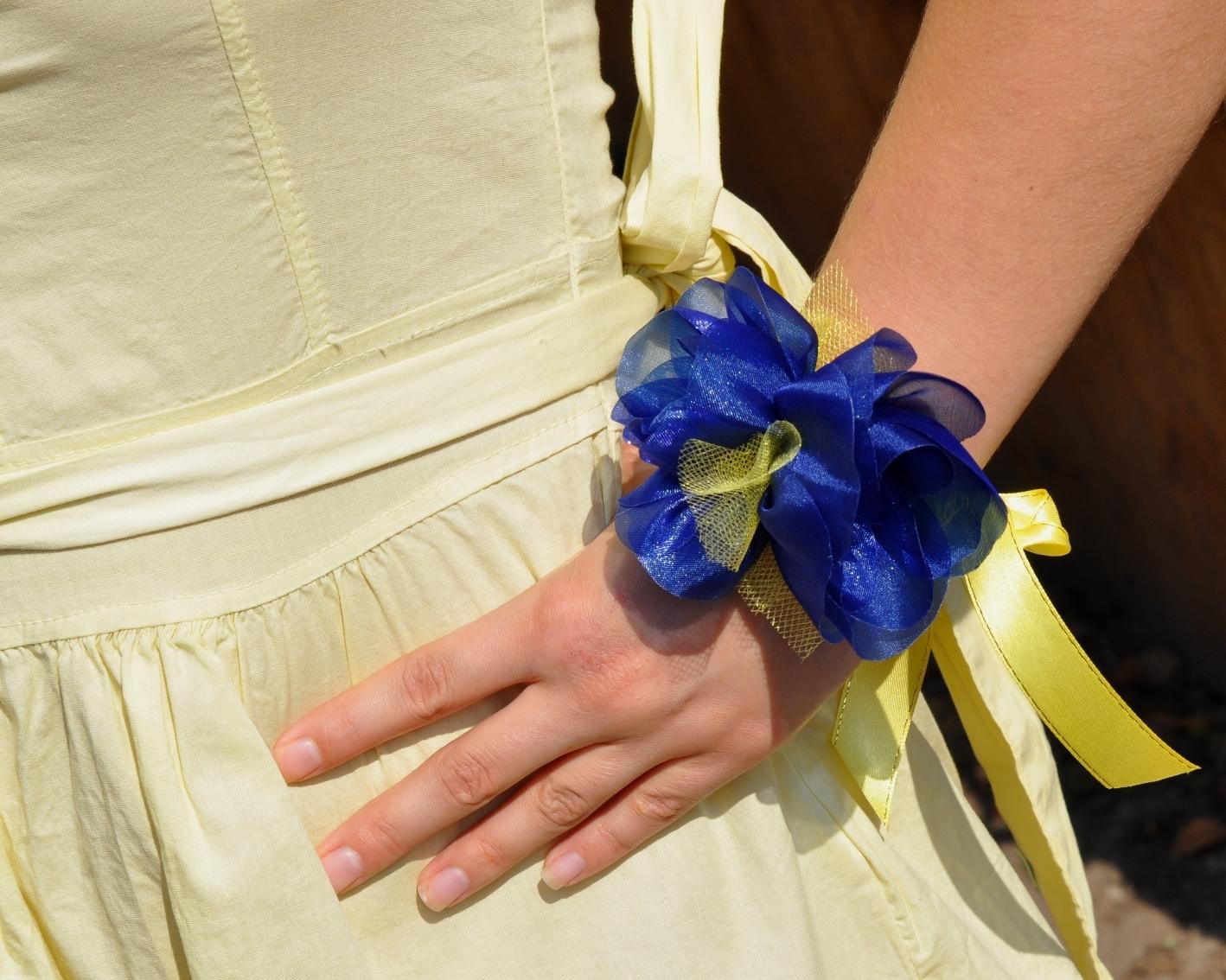 Повязки на руку подружкам невесты своими руками 20