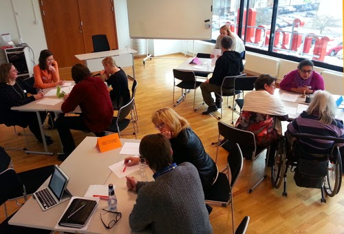 Fokusgruppen möte 6 feb 2014