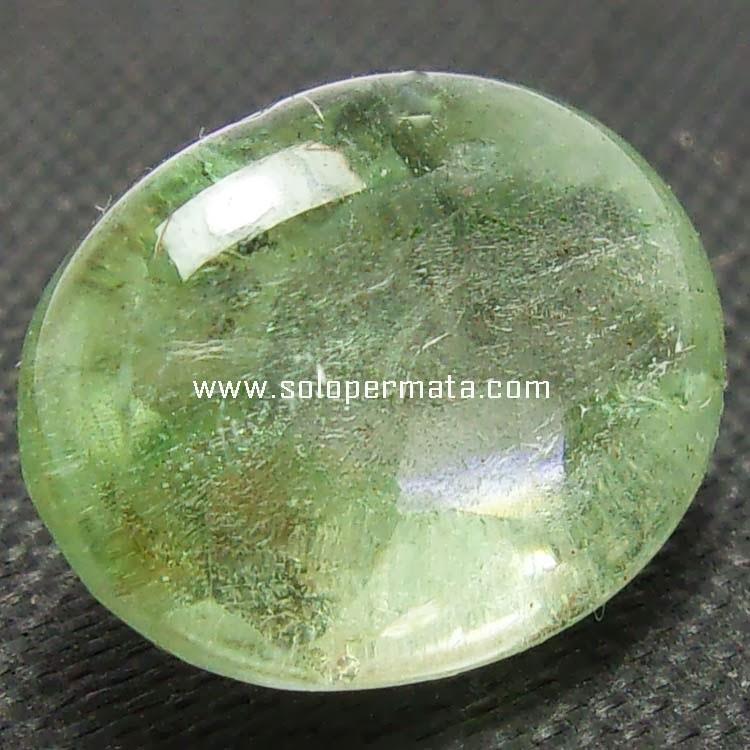 Batu Permata Green Beryl Aquamarine - 08B07