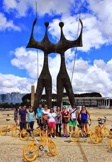 Bike Tour Brasília Praça dos 3 Poderes
