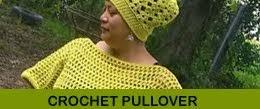 .Crochet Pullover