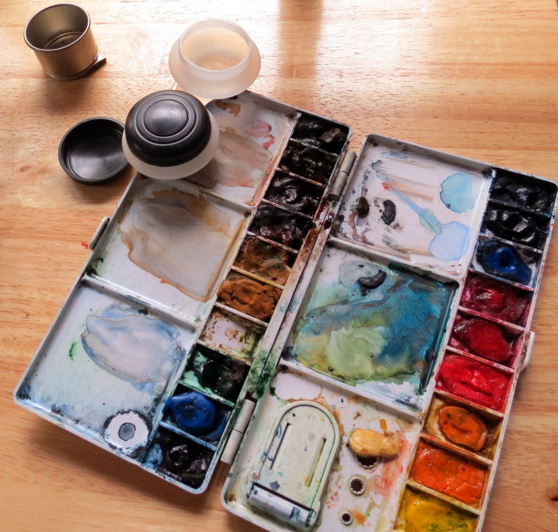 It Will Fit On My Old Folding Plastic Palette Toovery Versatile Of Course These Dont Hold Much Water Even The Double Ones So If Youre Painting