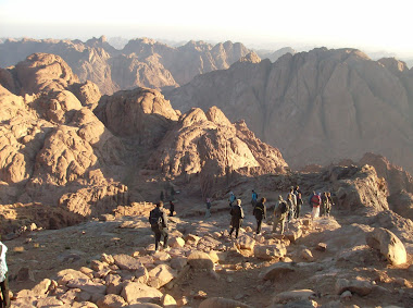 Mt Sinai - the trip down