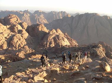 Mt Sinai - the trip down