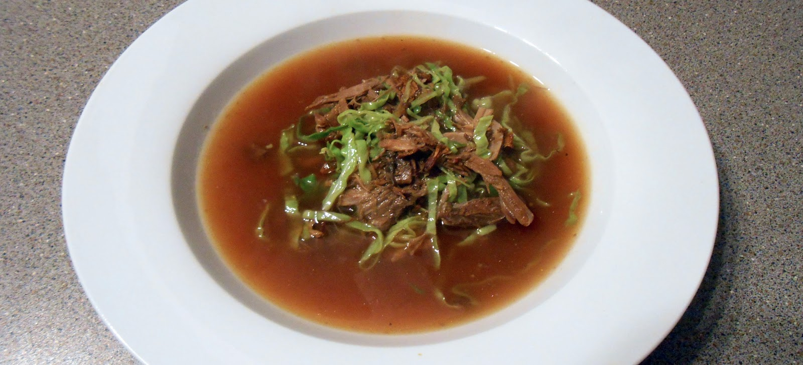 Soup tuesday duck ginger and orange soup