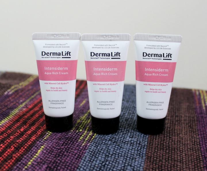Derma Lift Intensiderm Aqua Rich Cream samples
