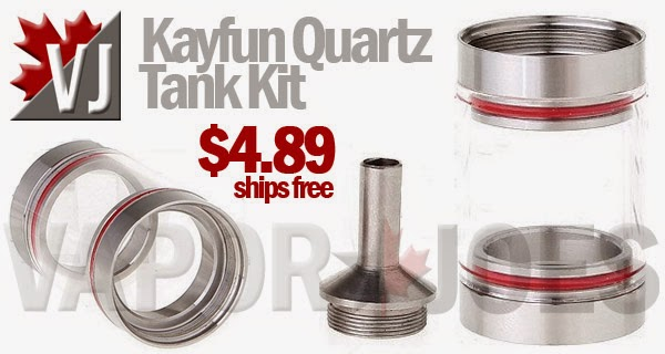 Kayfun Quartz Tank Kit for Kayfun/Russian Atomizers