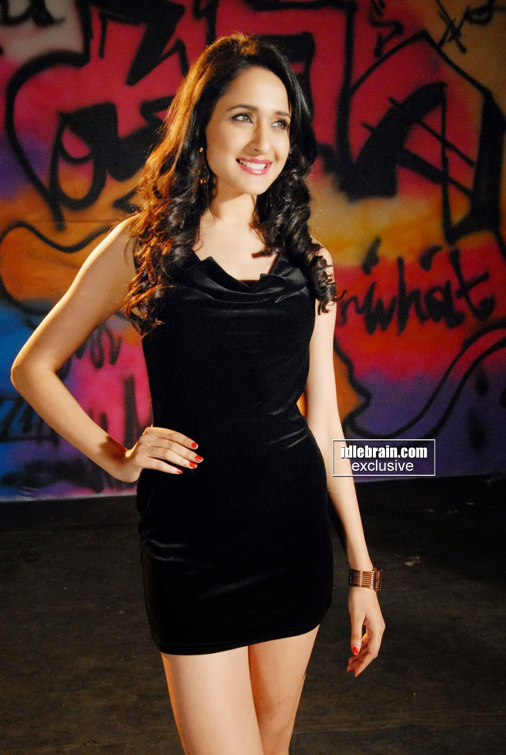 Pragya in Black Photo Gallery