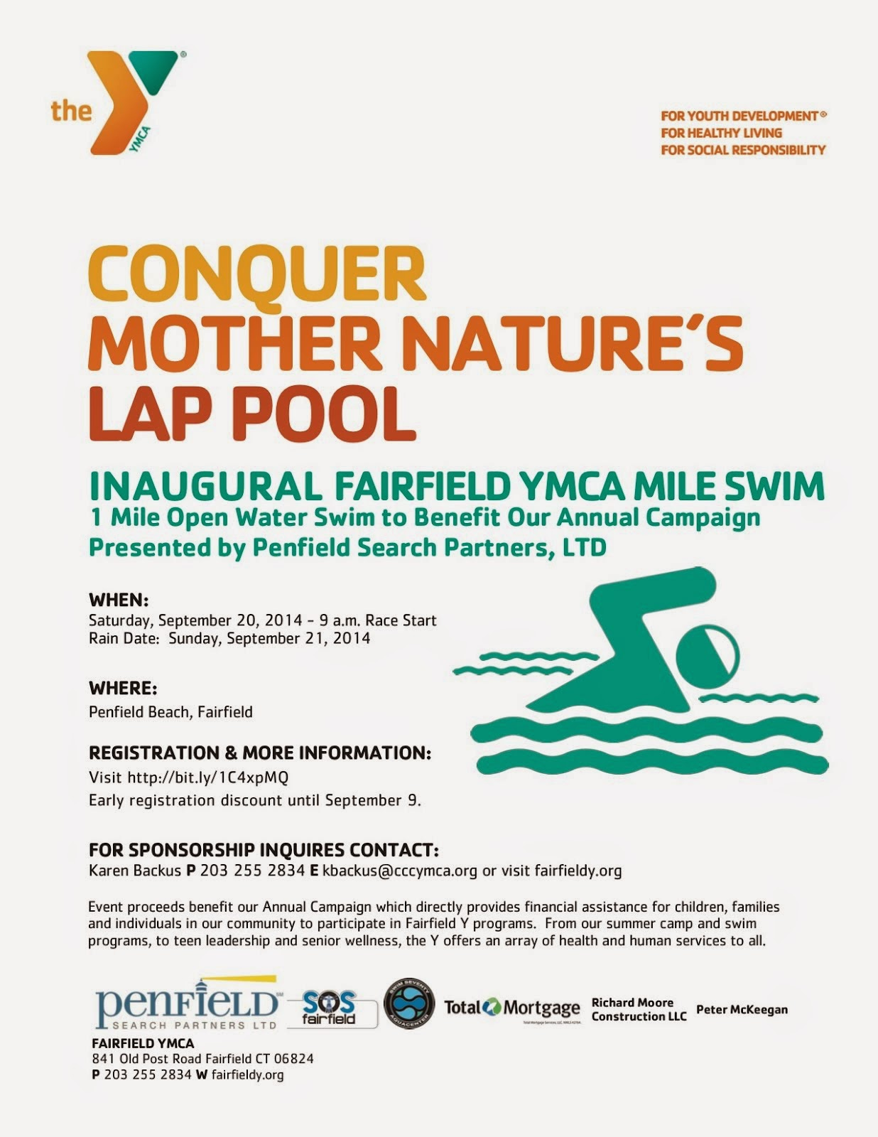 Fairfield YMCA Mile Swim
