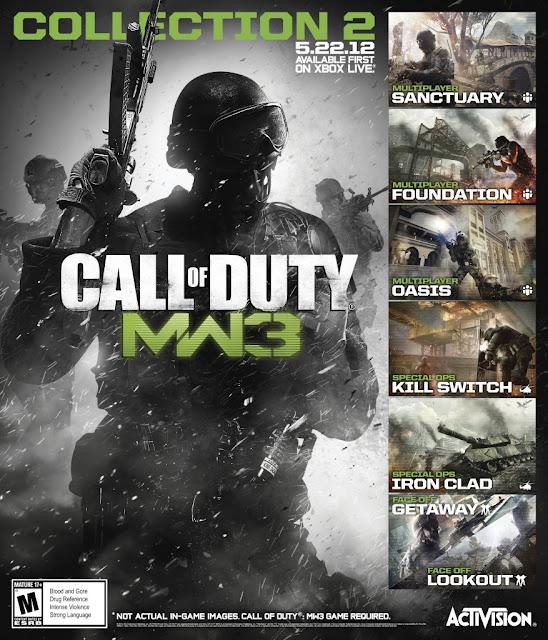 "『Call of Duty: Modern Warfare 3』のDLCコンテンツ""COLLECTION 2"