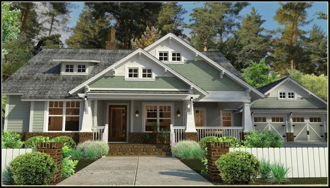Craftsman house plans with porch la furniture idea for Craftsman home plans with porch