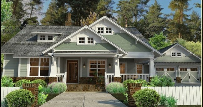 Craftsman house plans with porch la furniture idea for House plans with porch all the way around