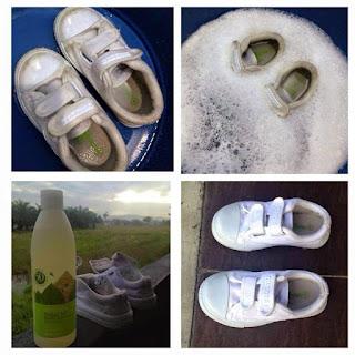 cuci kasut