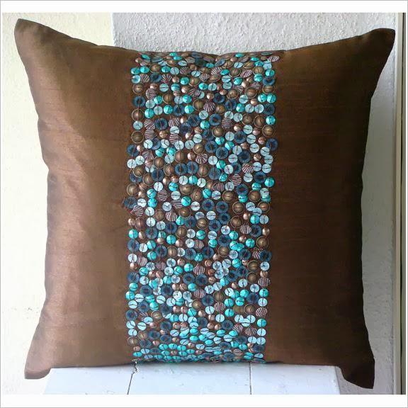 Декорирование подушек.  Pillow decor