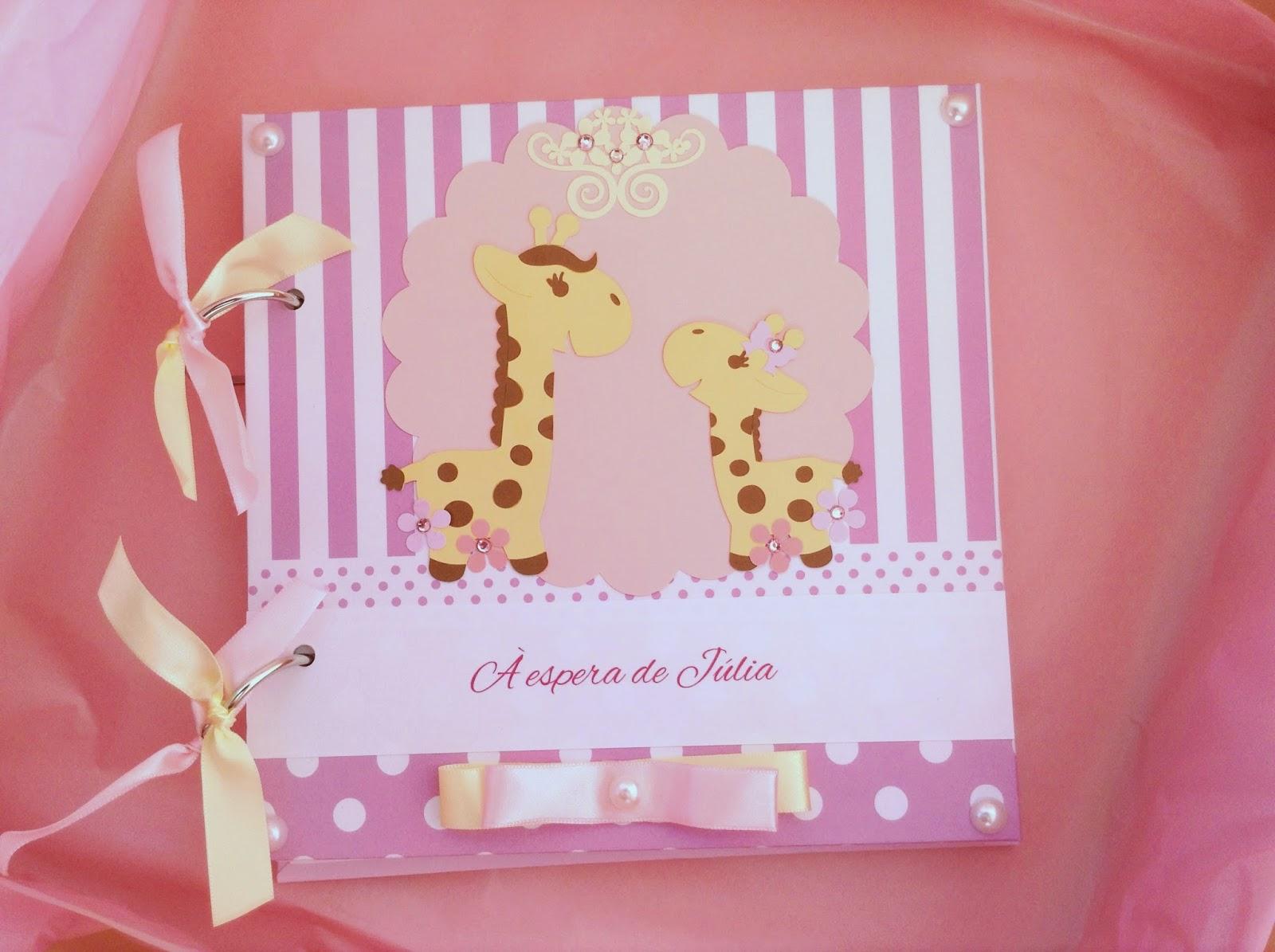 Enxoval girafinha rosa