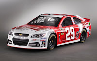 Chevrolet SS NASCAR 2013 #29 Front Side