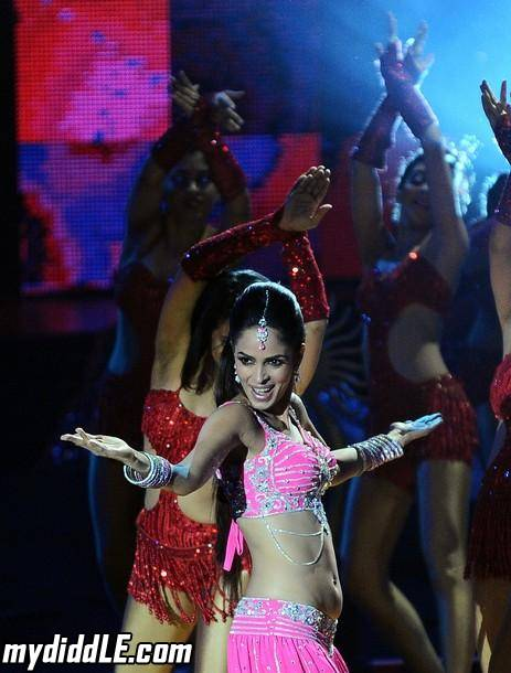 Mallika Sherawat  - Mallika Sherawat performs at IIFA 2011
