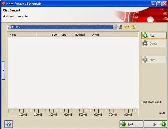 Cara Burning/Membakar File Data Dokumen, MP3, Video dan Software Ke CD/DVD Dengan Menggunakan Software Nero StartSmart