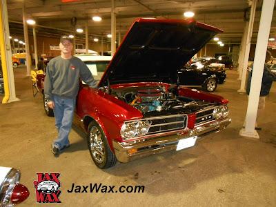 Jax Wax 1964 Pontiac GTO