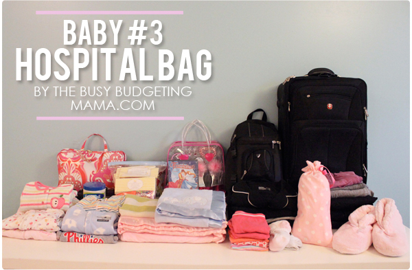 Baby #3 – My Hospital Bag! – At Home With Natalie