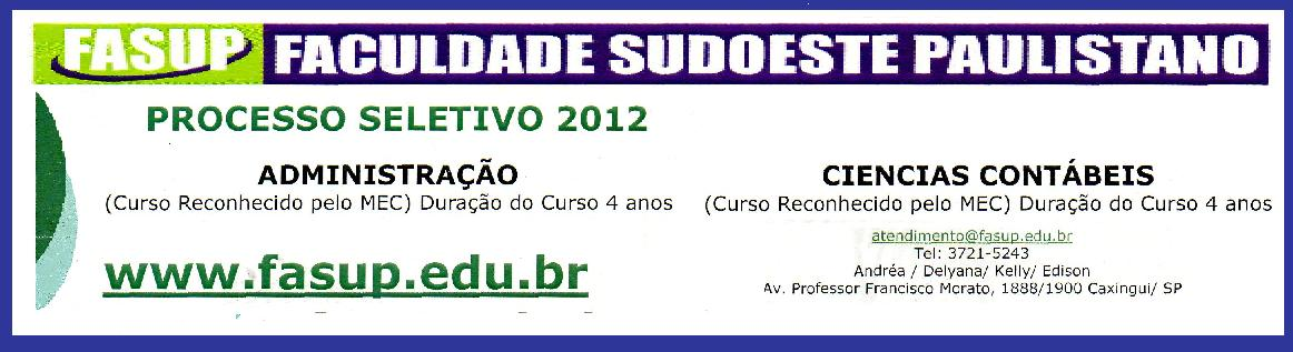 FASUP - FACULDADE SUDOESTE PAULISTANO